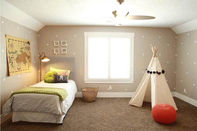 Tô điểm phòng ngủ của bé với những chiếc lều xinh xắn