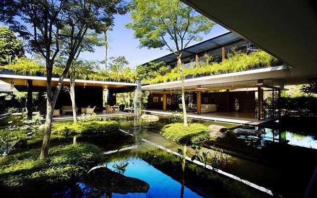 Thiết kế biệt thự đẹp sang trọng kết nối với thiên nhiên