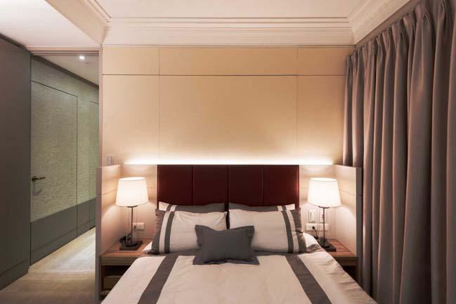 Thiết kế nội thất căn hộ chung cư 66m2 sang trọng
