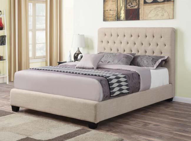 17 mẫu phòng ngủ đẹp với chiếc giường chần sang trọng