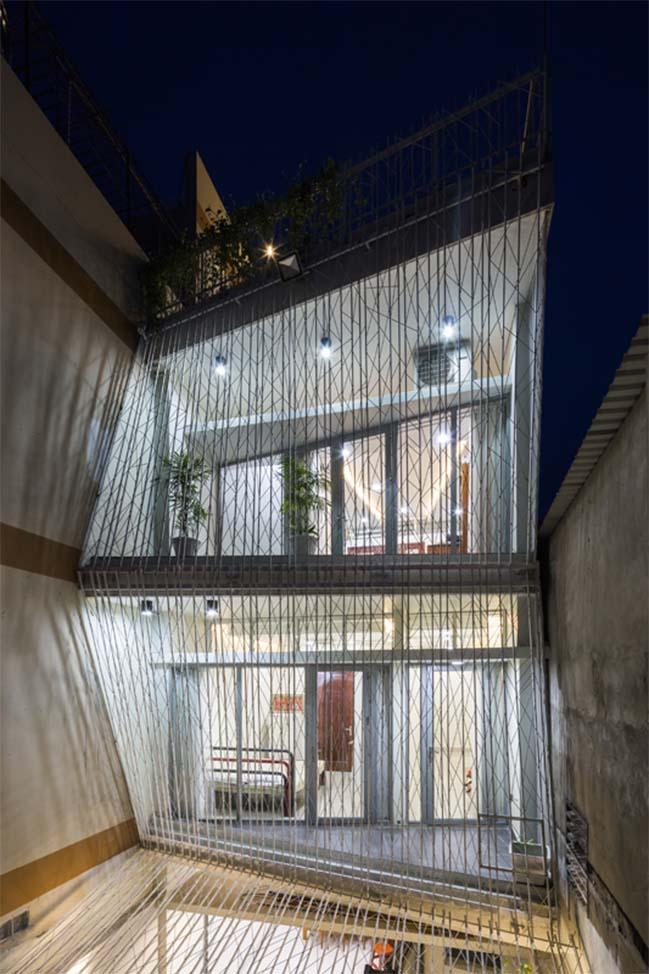 Thiết kế nhà phố đẹp ngập tràn ánh sáng và gió