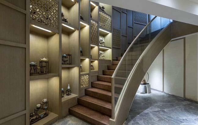 Mẫu biệt thự đẹp với nội thất Á Đông sang trọng