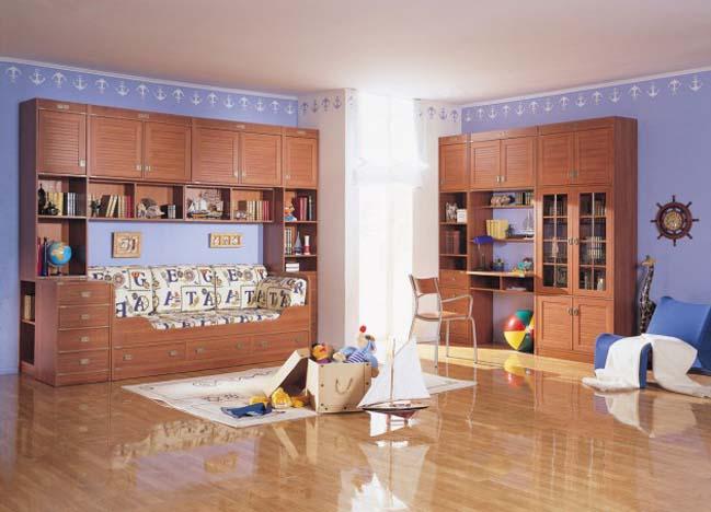 12 thiết kế nội thất phòng ngủ đẹp cho bé