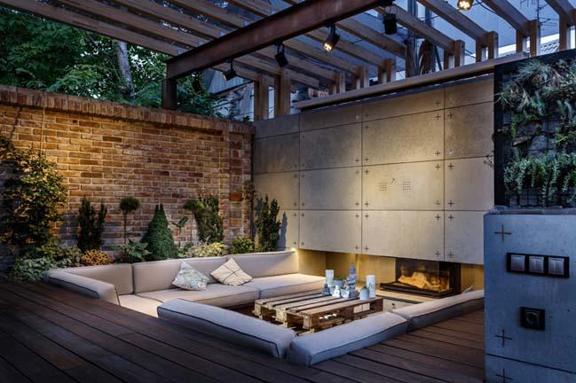 Thiết kế hoàn hảo cho không gian giải trí ngoài trời