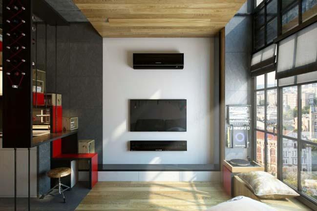 Thiết kế nội thất nhà nhỏ đẹp 18m2