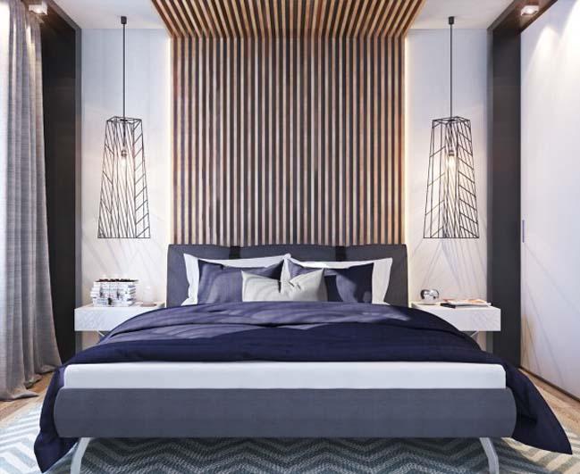 thiet ke noi that can ho 12 Tham quan căn hộ với thiết kế nội thất đương đại ấm cúng