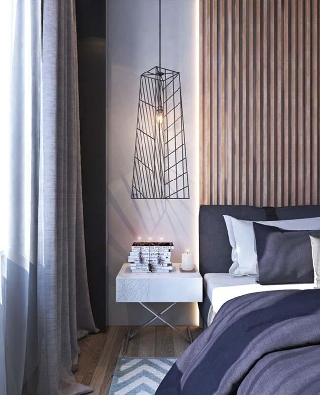 thiet ke noi that can ho 13 Tham quan căn hộ với thiết kế nội thất đương đại ấm cúng