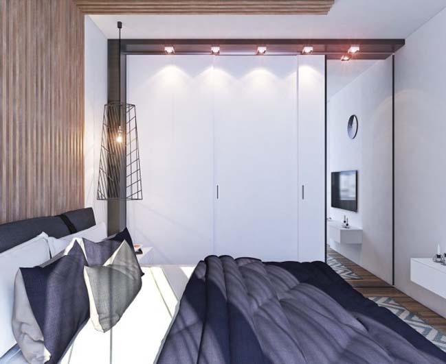 thiet ke noi that can ho 14 Tham quan căn hộ với thiết kế nội thất đương đại ấm cúng