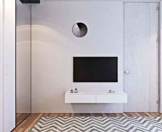 thiet ke noi that can ho 15 Tham quan căn hộ với thiết kế nội thất đương đại ấm cúng