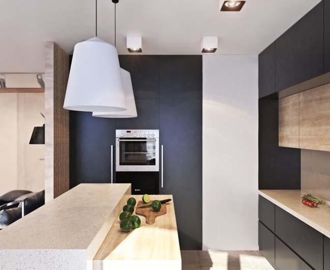 thiet ke noi that can ho 16 Tham quan căn hộ với thiết kế nội thất đương đại ấm cúng