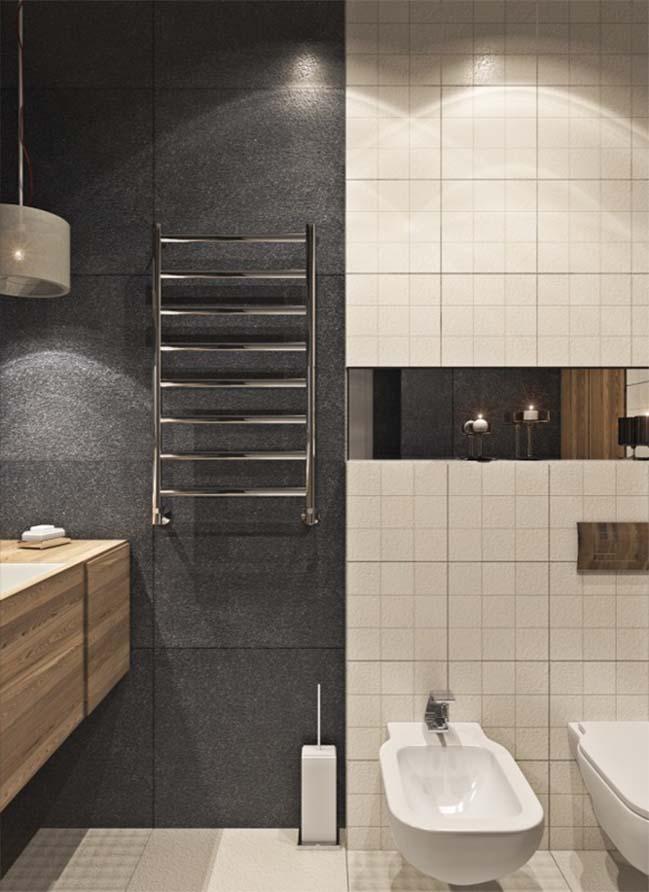 thiet ke noi that can ho 17 Tham quan căn hộ với thiết kế nội thất đương đại ấm cúng