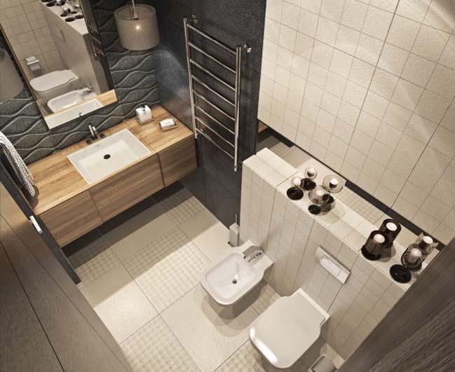 thiet ke noi that can ho 18 Tham quan căn hộ với thiết kế nội thất đương đại ấm cúng