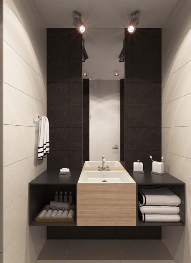 thiet ke noi that can ho 20 Tham quan căn hộ với thiết kế nội thất đương đại ấm cúng