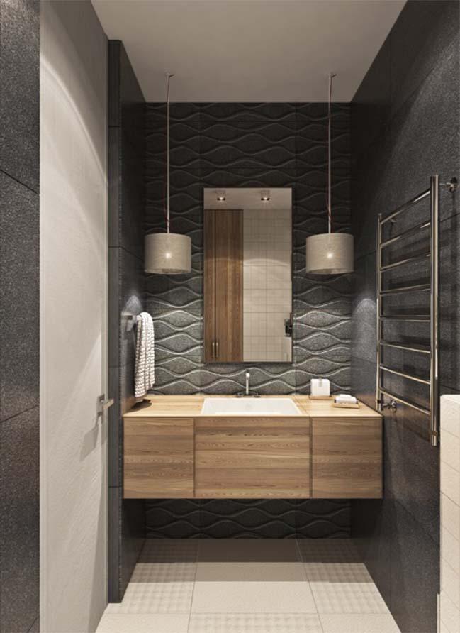 thiet ke noi that can ho 22 Tham quan căn hộ với thiết kế nội thất đương đại ấm cúng