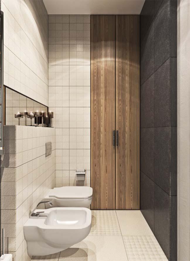 thiet ke noi that can ho 23 Tham quan căn hộ với thiết kế nội thất đương đại ấm cúng