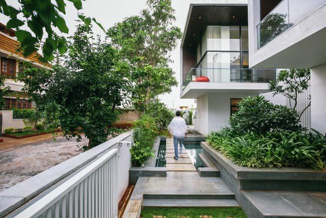 Mẫu thiết kế biệt thự 2 tầng hòa mình cùng thiên nhiên