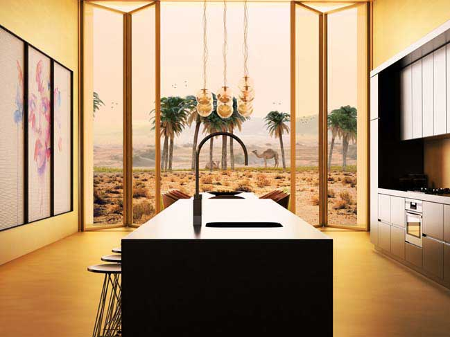 Thiết kế kiến trúc xanh giữa sa mạc