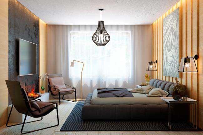 Thiết kế căn hộ cao cấp với nội thất gỗ sang trọng