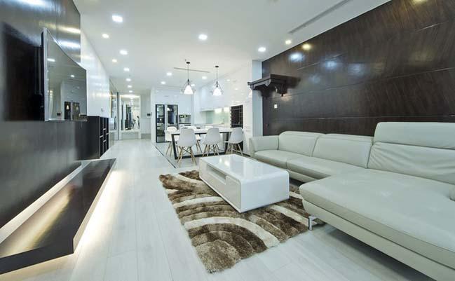 Cải tạo căn hộ ngập tràn ánh sáng tại Hà Nội