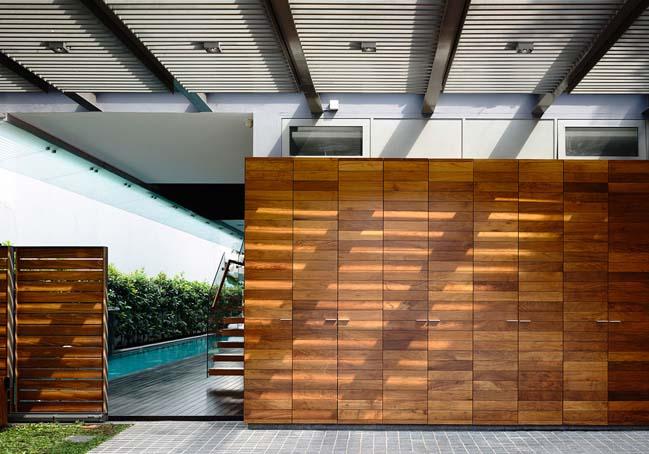 mau thiet ke biet thu 2 tang 02 Chia sẻ mẫu thiết kế biệt thự 2 tầng hiện đại và sang trọng