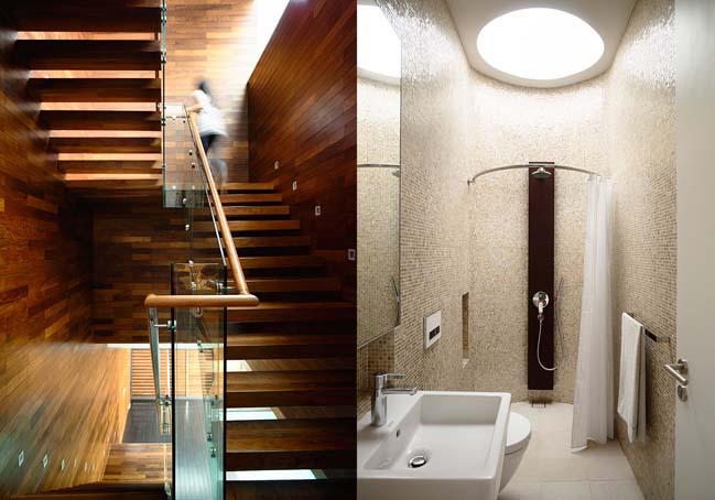 mau thiet ke biet thu 2 tang 06 Chia sẻ mẫu thiết kế biệt thự 2 tầng hiện đại và sang trọng