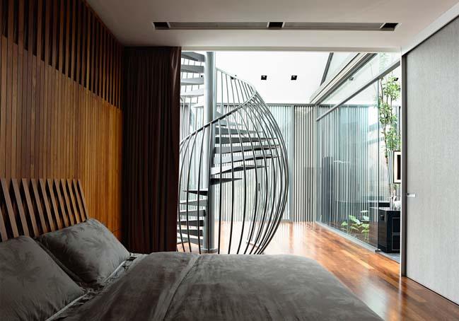 mau thiet ke biet thu 2 tang 07 Chia sẻ mẫu thiết kế biệt thự 2 tầng hiện đại và sang trọng