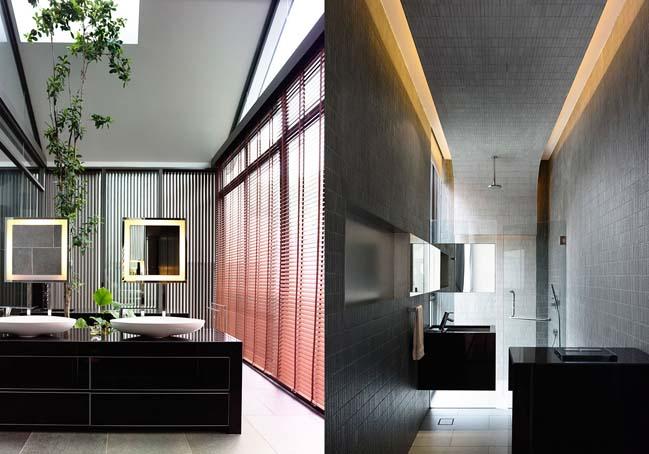 mau thiet ke biet thu 2 tang 09 Chia sẻ mẫu thiết kế biệt thự 2 tầng hiện đại và sang trọng