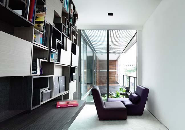 mau thiet ke biet thu 2 tang 11 Chia sẻ mẫu thiết kế biệt thự 2 tầng hiện đại và sang trọng