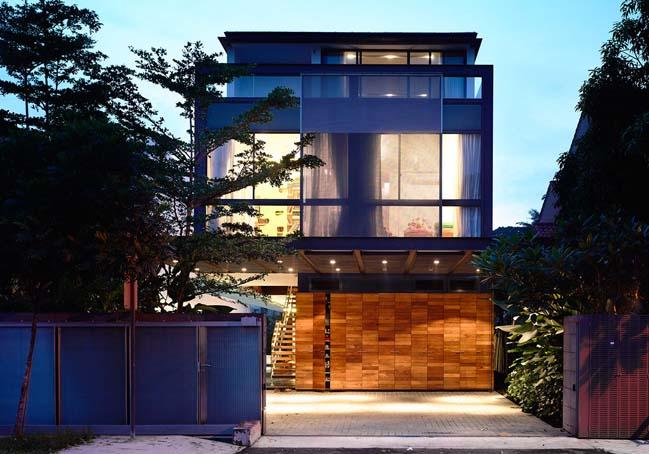 mau thiet ke biet thu 2 tang 13 Chia sẻ mẫu thiết kế biệt thự 2 tầng hiện đại và sang trọng