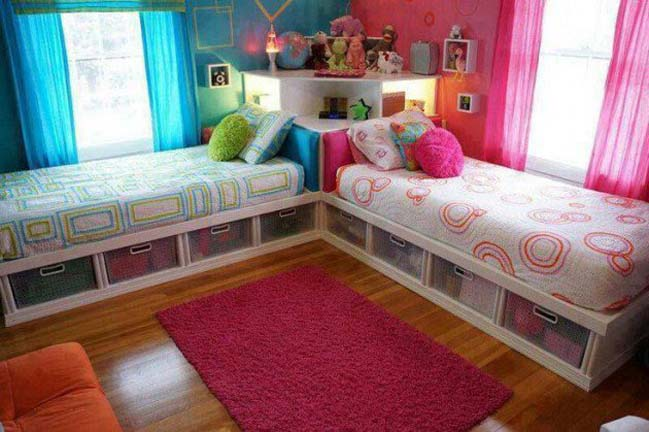 12 mẫu thiết kế nội thất phòng ngủ đôi xinh xắn