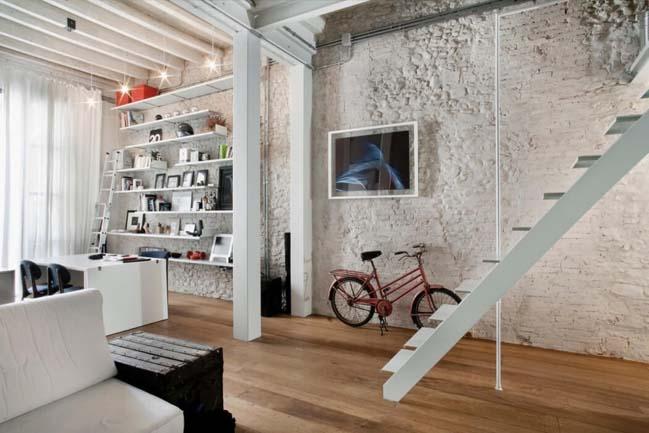 Tối ưu không gian cho căn hộ nhỏ với gác lửng