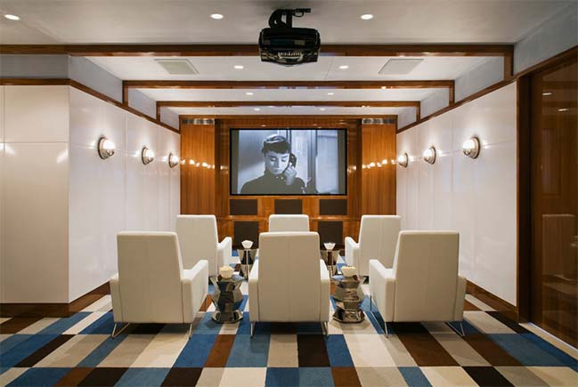 Những thiết kế sang trọng cho phòng chiếu phim tại nhà