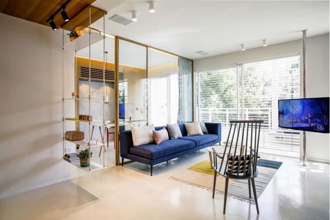 Thiết kế nội thất căn hộ cao cấp ngập tràn ánh sáng