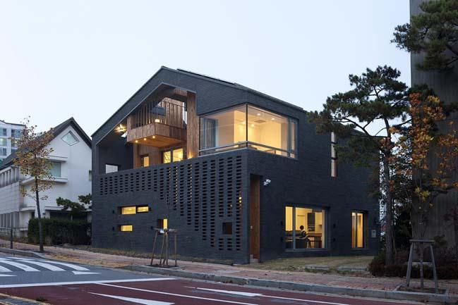 Thiết kế nhà đẹp 2 trong 1 cho gia đình 2 thế hệ