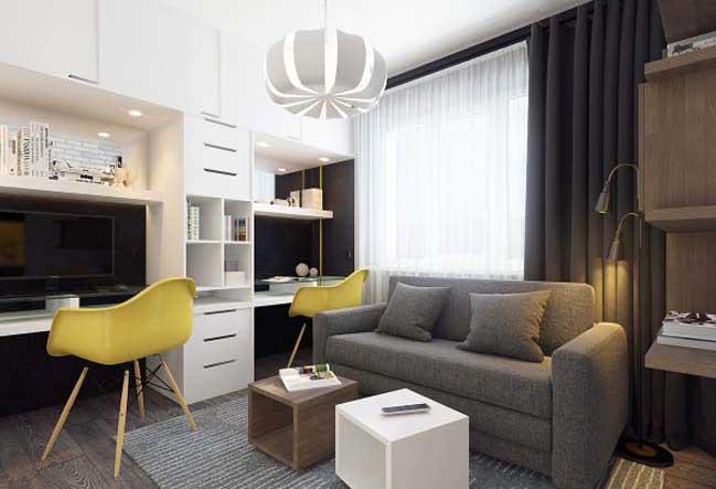 Nội thất cao cấp cho căn hộ nhỏ 38m2