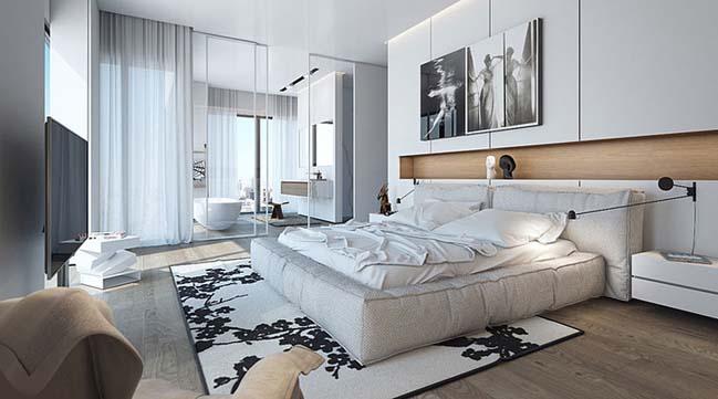 14 thiết kế phòng ngủ đẹp sang trọng như khách sạn