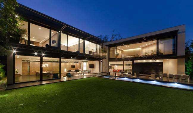 Thiết kế biệt thự đẹp liên kết với không gian xanh