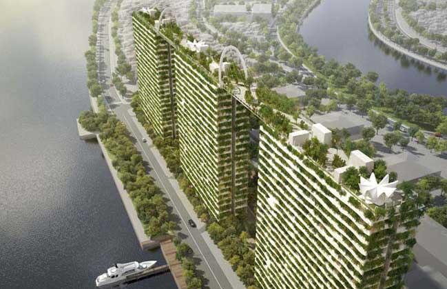 Dự án căn hộ với kiến trúc xanh tại Sài Gòn