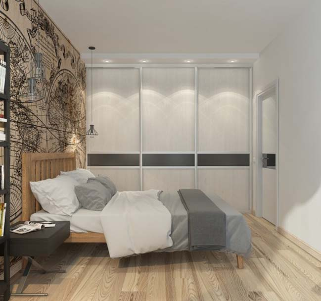 can ho chung cu 07 Gợi ý thiết kế nội thất căn hộ 45m2 đẹp gọn gàng