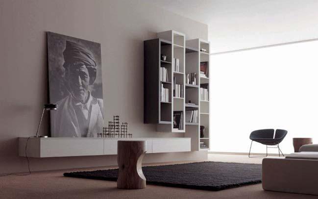 Tô điểm phòng khách với những bức tranh nghệ thuật