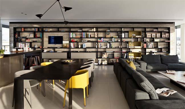 Căn hộ penthouse với không gian mở xuyên suốt