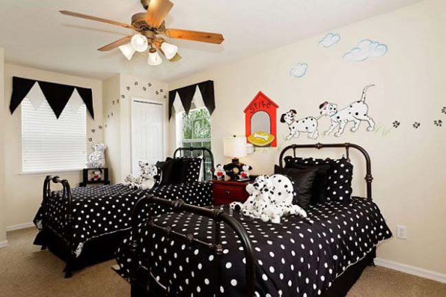 Những mẫu phòng ngủ đẹp với chủ đề Disney