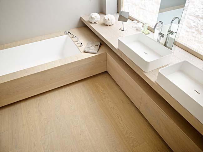 Mẫu nhà đẹp 2 tầng với nội thất gỗ tinh tế