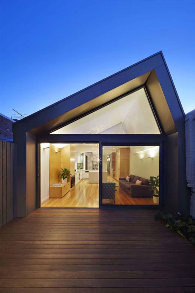 nha dep 14 Cải tạo ngôi nhà cũ thành không gian hiện đại tươi sáng