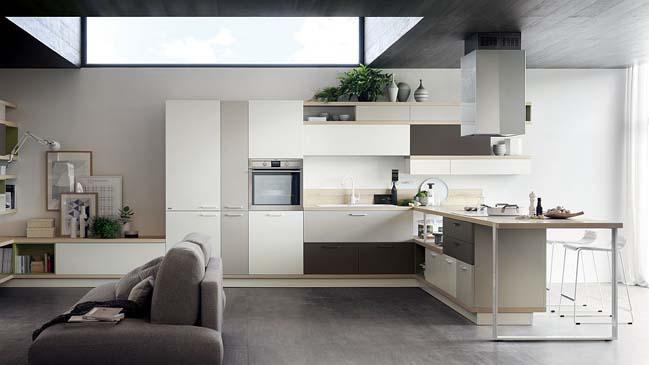 Những mẫu nhà bếp đẹp với không gian mở hiện đại