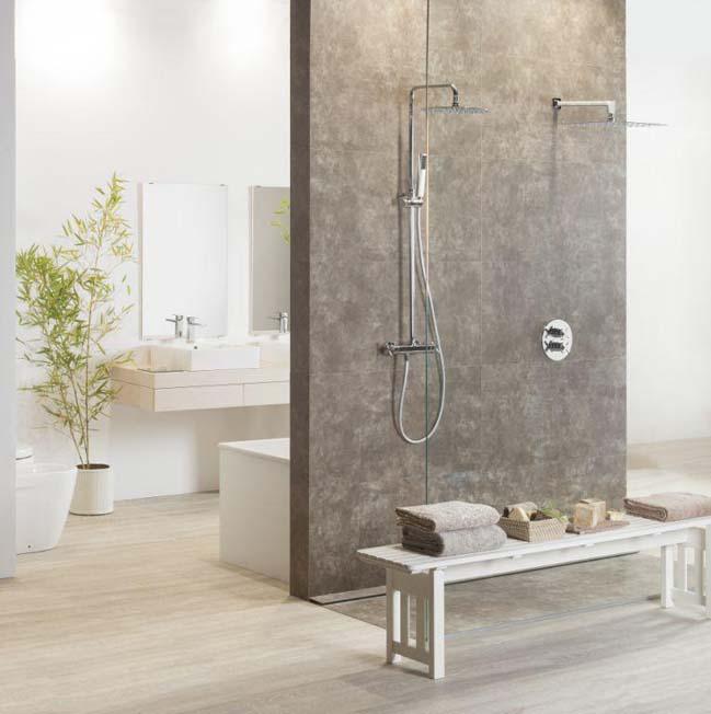 Thiết kế phòng tắm đẹp với chủ đề thiên nhiên