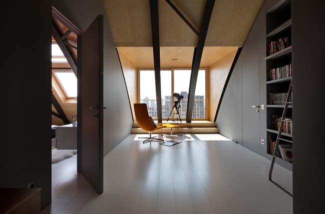 can ho chung cu 10 Tham quan căn hộ sang trọng với kiến trúc mái vòm độc đáo
