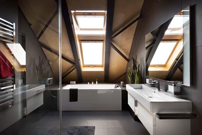 can ho chung cu 12 Tham quan căn hộ sang trọng với kiến trúc mái vòm độc đáo