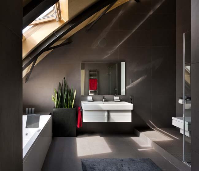 can ho chung cu 13 Tham quan căn hộ sang trọng với kiến trúc mái vòm độc đáo