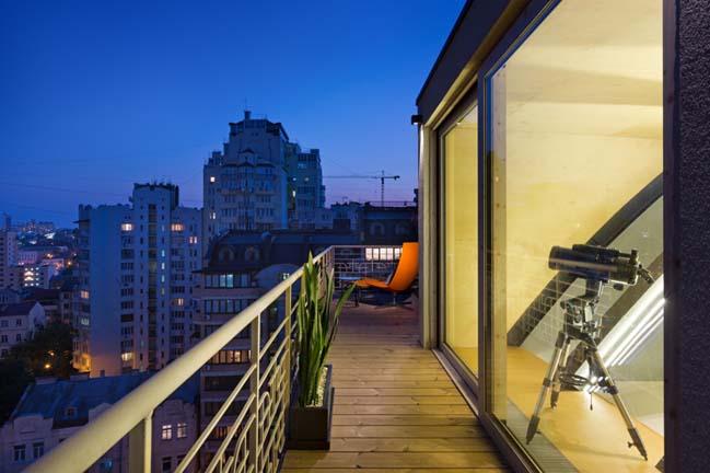 can ho chung cu 15 Tham quan căn hộ sang trọng với kiến trúc mái vòm độc đáo